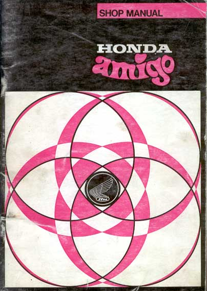 Honda Amigo Shop Manual
