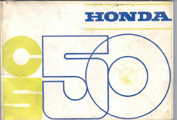 Honda CS50 Dutch Ownersmanual