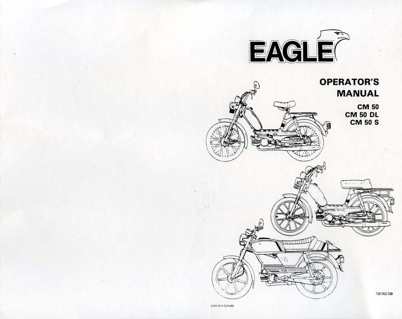 Eagle Operators Manual