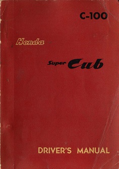 Honda C100 Super Cub Manual (1959)