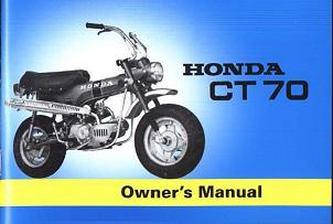 Honda CT70 Owners Manual