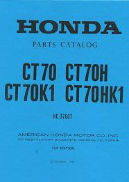 Honda CT70 Parts Catalog
