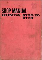 Honda ST50 Shopmanual