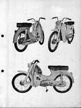 Honda C310a Partslist