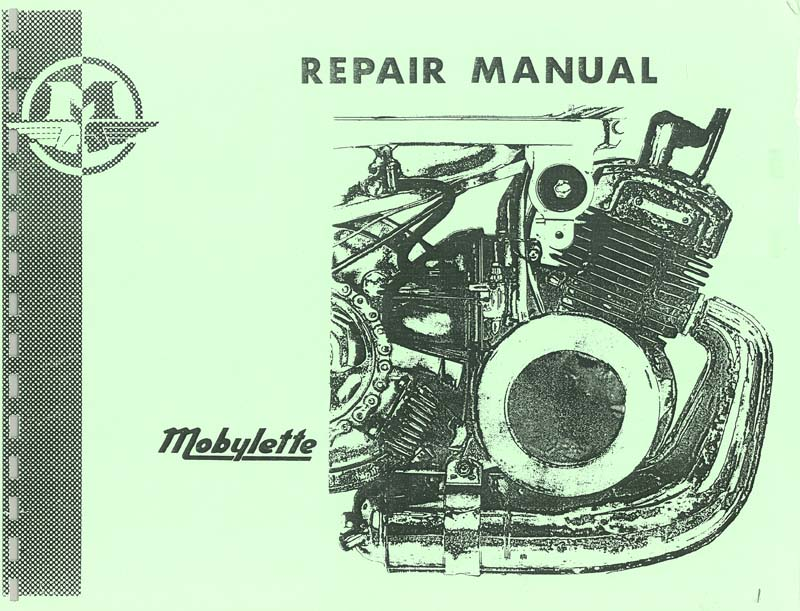Mobylette Repair Manual