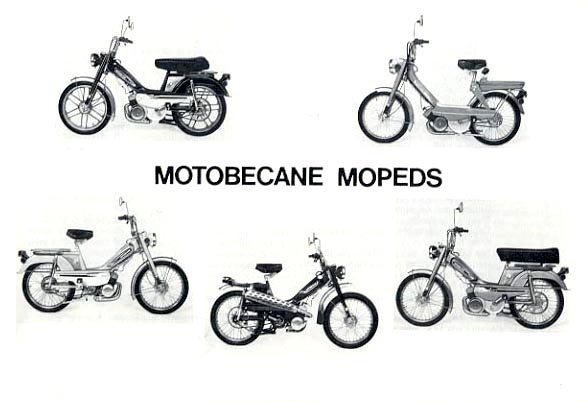 Motobecane Owners Manual