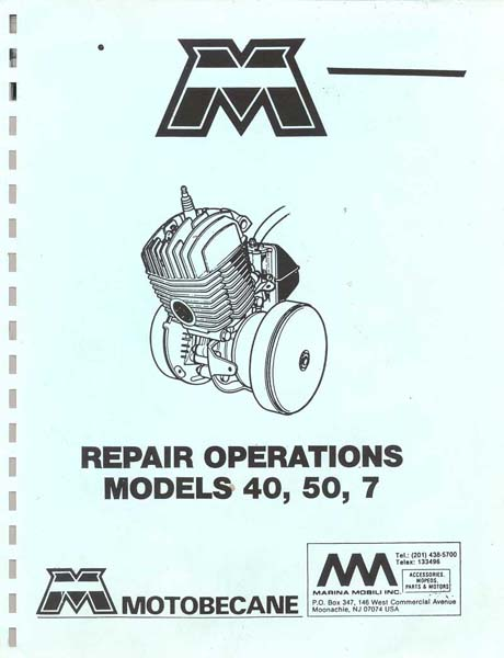 Motobecane Repair Manual for Models 40 50  7.jpg
